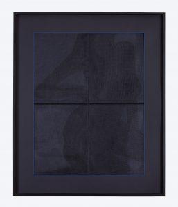 """""""Shadow Woman #3″ (46"""" x 38"""" Framed)"""