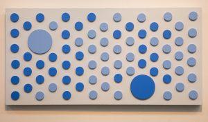 Blue is Winning (24″ x 48″)