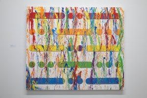 """Bleeding Rainbow"" (48″ x 60″)"